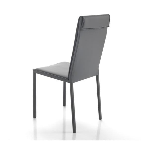 Sada 2 šedých jídelních židlí Tomasucci Camy