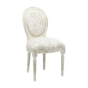 Bílá jídelní židle Kare Design Louis Romance