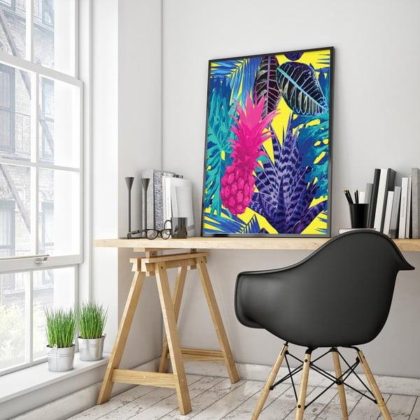 Plakát s ananasem, 30 x 40 cm
