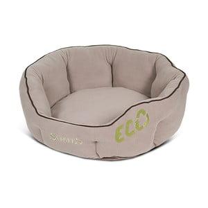 Psí pelíšek Eco Donut 55 cm, přírodní