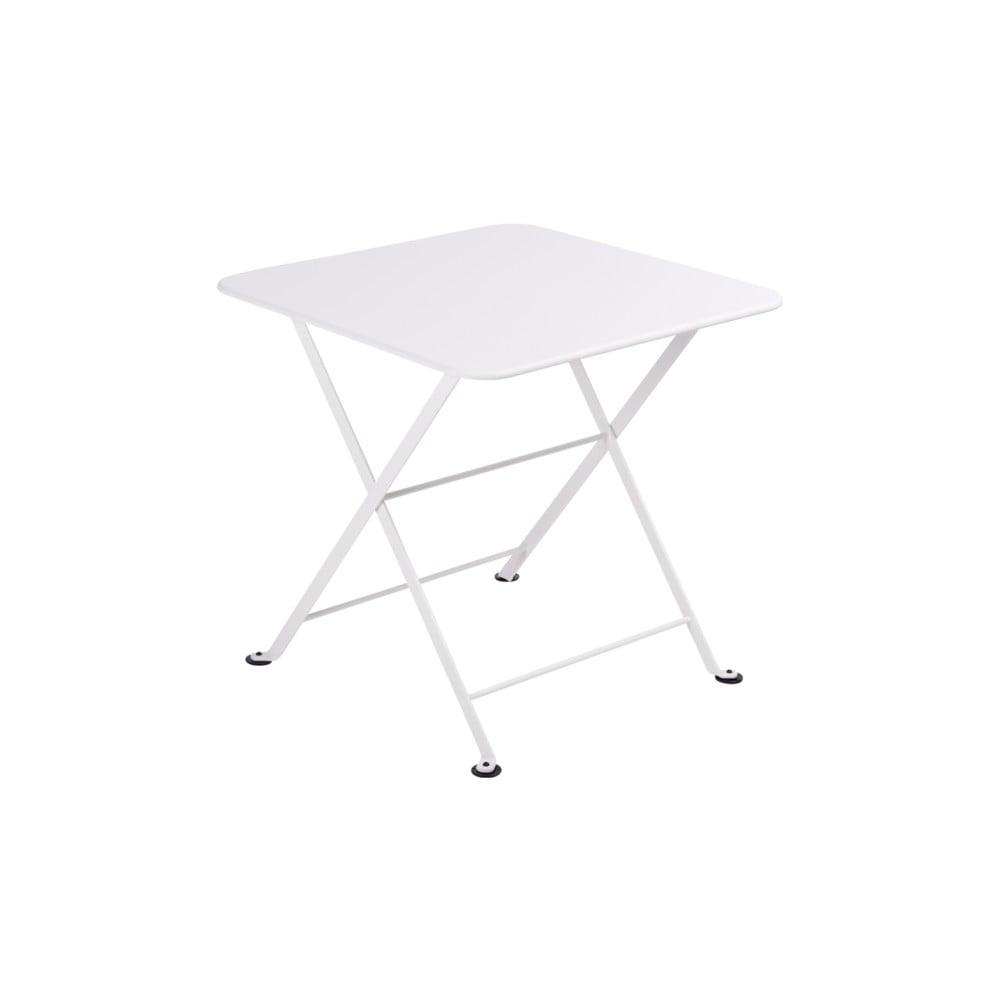 Bílý dětský skládací kovový stůl Fermob Tom Pouce