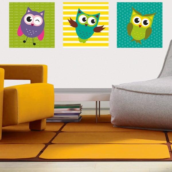 Samolepky Funny Owls