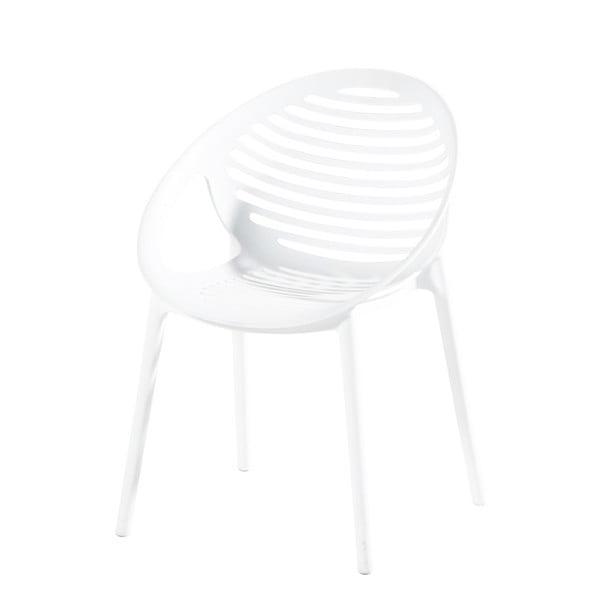 Białe krzesło ogrodowe Hartman Romeo