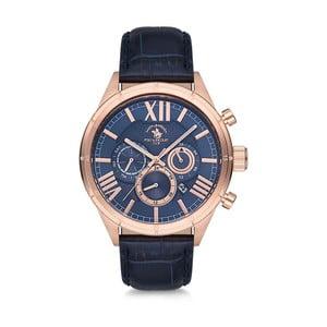 Pánské hodinky s koženým řemínkem Santa Barbara Polo & Racquet Club Tom