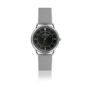 Unisex hodinky z nerezové oceli s černým ciferníkem Frederic Graff Roland