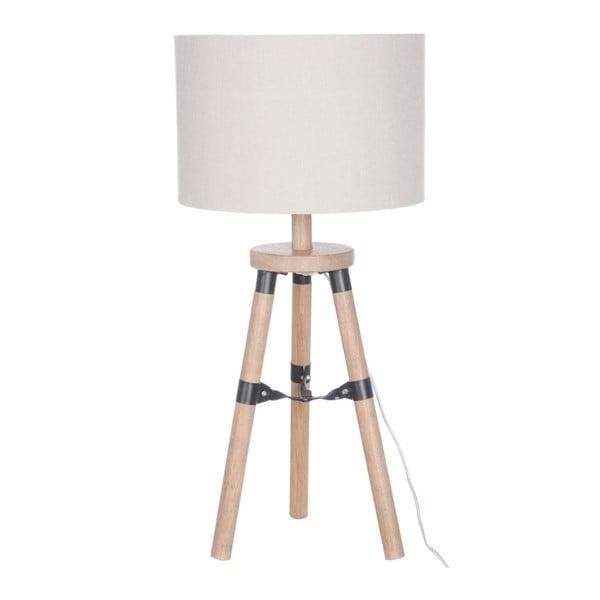 Bílá stolní lampa J-Line Trio Legs
