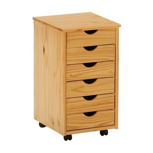 Dřevěná komoda na kolečkách 13Casa  Office