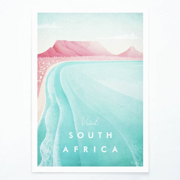 Plagát Travelposter South Africa, A3
