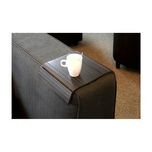 Suport pahar pentru fotoliu Rowico Armtray, negru