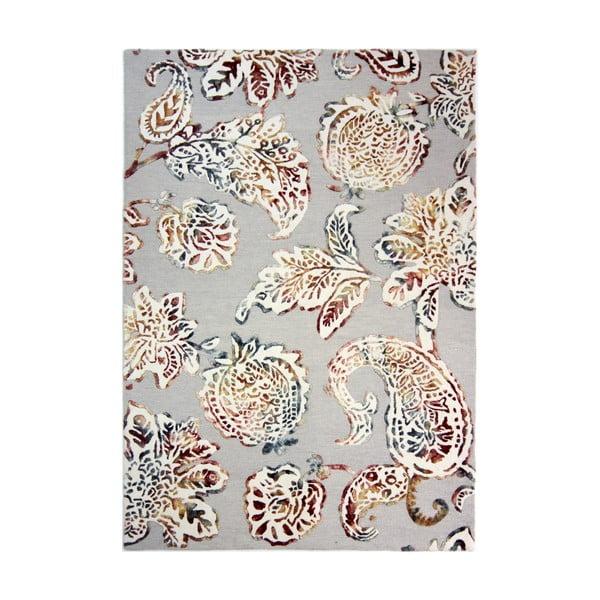 Šedý ručně tkaný koberec Flair Rugs Soho Sirius, 160x230cm