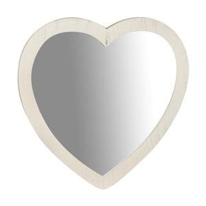 Zrcadlo ve tvaru srdce Crido Consulting Heart, 45 x 45 cm