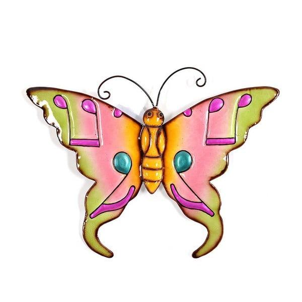 Nástěnná dekorace Colorful Butterfly