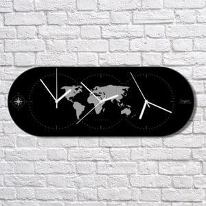 Nástěnné hodiny The World