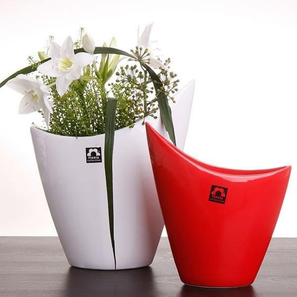 Váza Cher 26 cm, bílá