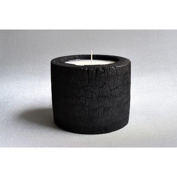 Palmová svíčka Legno s vůní vanilky a pačuli, 80 hodin hoření