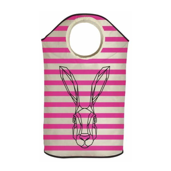 Koš na prádlo Bunny in Stripes
