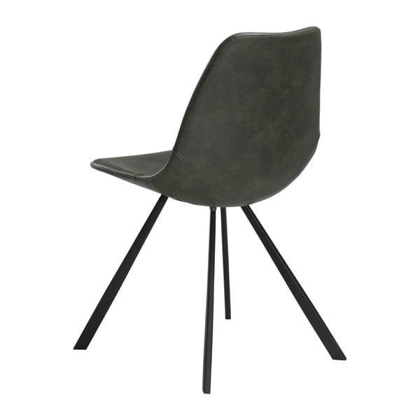 Zelená jídelní židle DAN–FORM Pitch