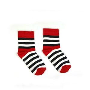 Dětské bavlněné ponožky HestySocks Námořník, vel. 25-30