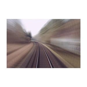 Fotografie Train 1, limitovaná edice fotografa Petra Hricka, formát A1