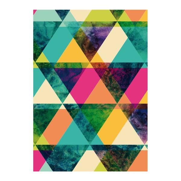 Plakát Just Triangle, A3