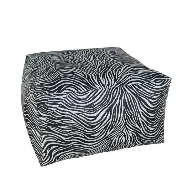Černobílý puf 13Casa Print