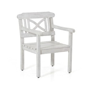 Bílá zahradní židle Brafab Dakota