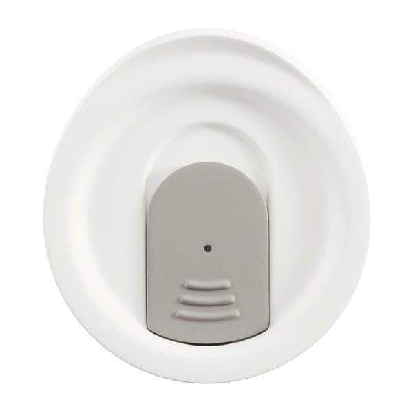 Bílý cestovní termohrnek XD Design Dia, 227ml
