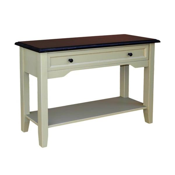 Odkládací konzolový stolek se zásuvkou Base  Plate