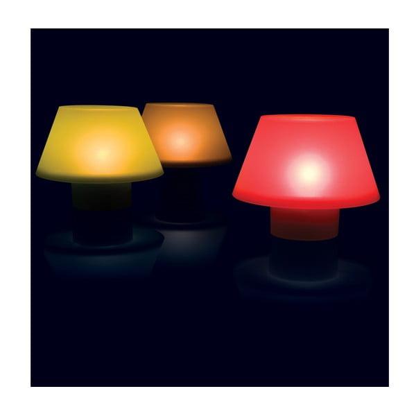 Silikonový svícen, červený