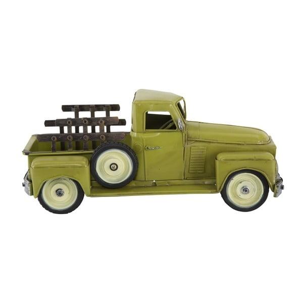 Zelené dekorativní auto Mauro Ferretti Old Country