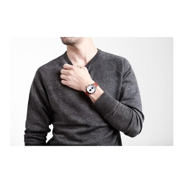 Unisex hodinky s koženým řemínkem Triwa Duke Lansen