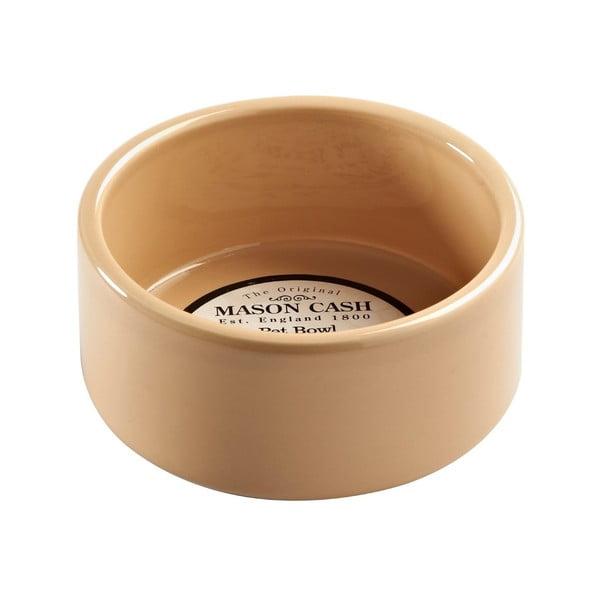 Světle hnědá kameninová miska pro domácího mazlíčka Mason Cash Bakeware, ⌀ 13 cm