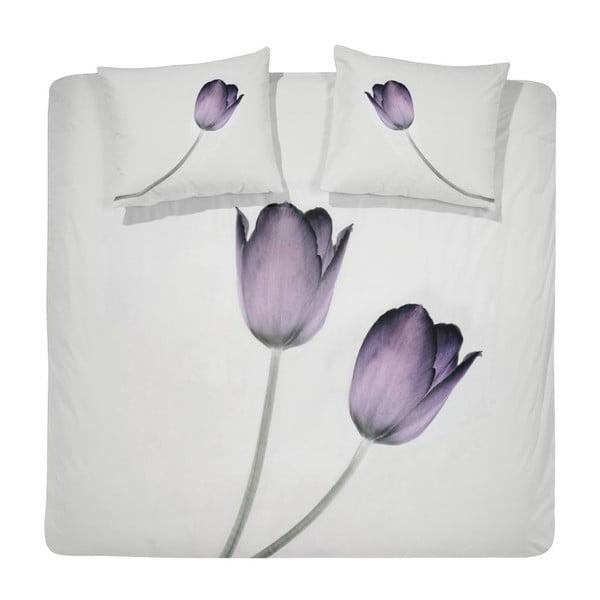 Povlečení Tulipa Purple, 140x200 cm