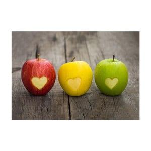 Covor din vinilin Apple, 52x75 cm