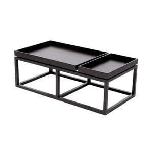 Černý konferenční stolek NORR11 Tray