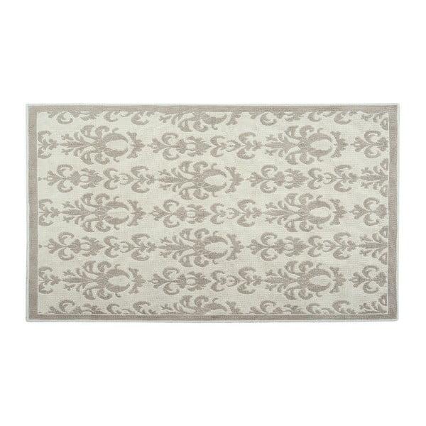 Bavlněný koberec Baroco 80x150 cm, krémový