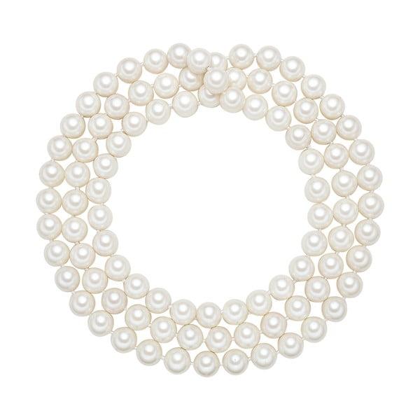 Náhrdelník s bílými perlami ⌀12 mm Perldesse Muschel, délka 120 cm