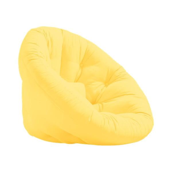 Rozkladacie kresielko Karup Design Nest Yellow