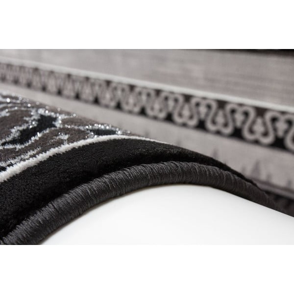 Koberec Farum Black, 80x150 cm