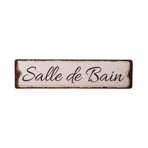 Plechová cedule na koupelnu Antic Line Salle De Bain