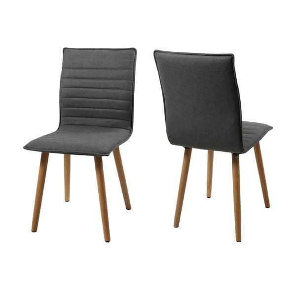Jídelní židle Karla, světle šedá