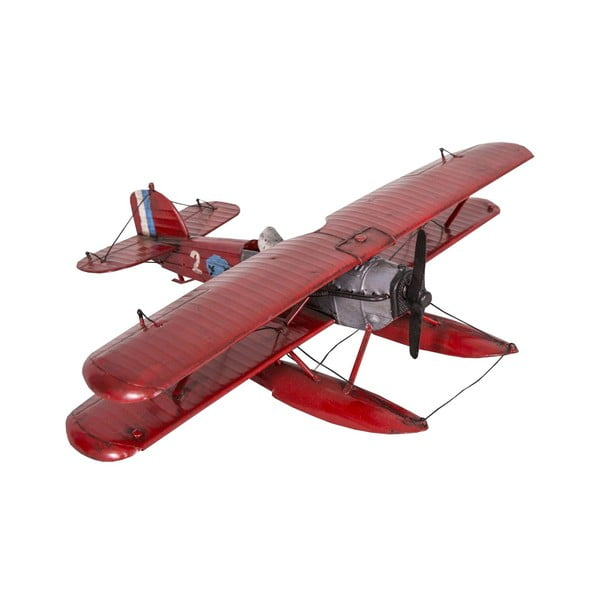Dekorativní objekt Red Seaplane