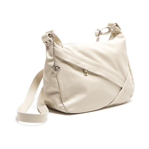 Kožená kabelka Isabella Rhea 2133 Beige