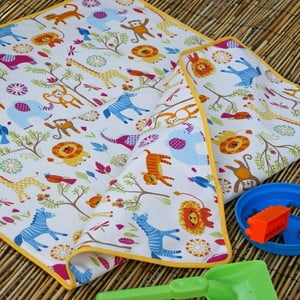Plážová dětská deka Cream, 65x90 cm