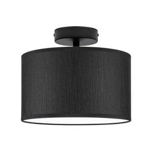 Černé stropní svítidlo Bulb Attack Doce, ⌀ 25 cm