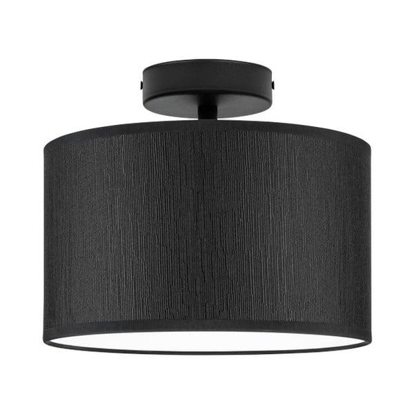Czarna lampa sufitowa Bulb Attack Doce, ⌀ 25 cm