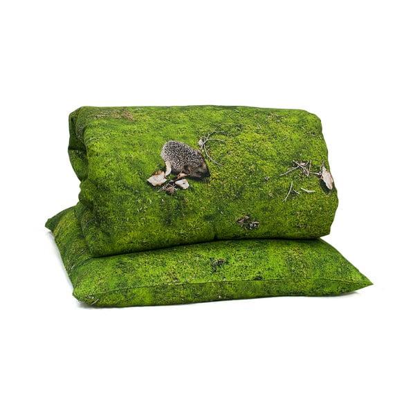 Față de pernă Foonka Mech, 50 x 60 cm, verde