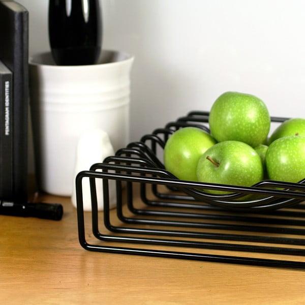 Mísa na ovoce Wire Fruit, černá
