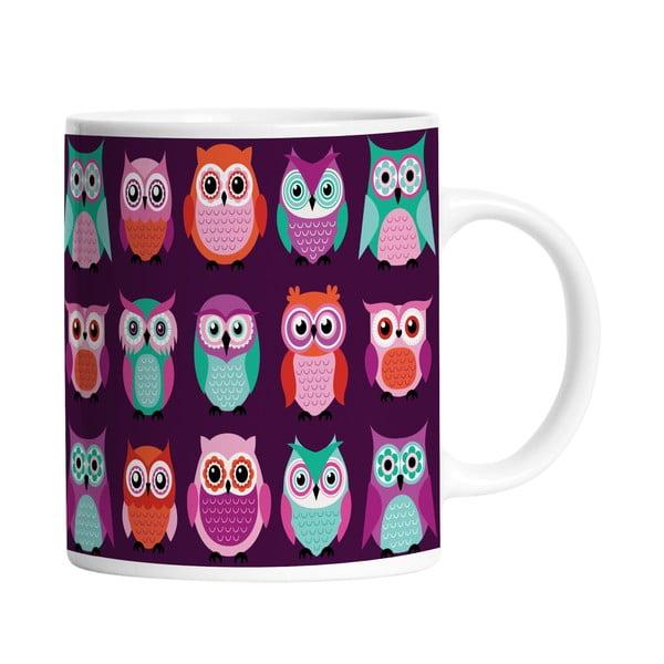 Keramický hrnek Owl Friends, 330 ml
