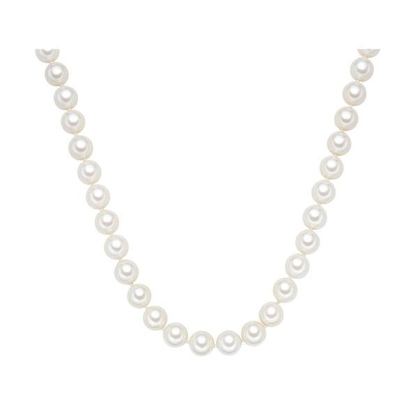 Náhrdelník s bílými perlami ⌀12 mm Perldesse Muschel, délka 60 cm